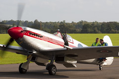 G-BSKP - RN201 - 6S 663417 - Private - Supermarine 379 Spitfire F14E - Duxford - 060903 - Steven Gray - CRW_6357