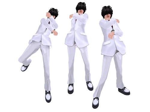 SLC modeling pose set(Dual Gun)