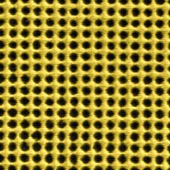 Lamina de oro agujereada