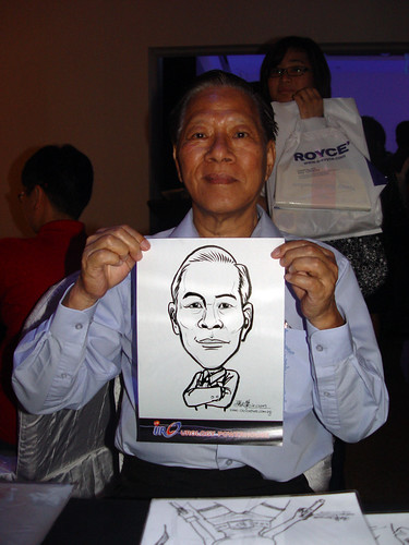 Caricature live sketching for GSK Urology Powerhouse -7