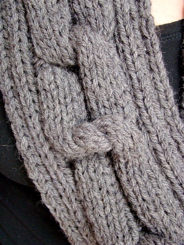 PATTERN: Chain Gang Eternity Scarf - Vickie Howell