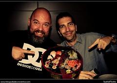 SushiandTwitts @CalboconBarba y @bambino (Javier Mcallan) Tags: españa sushi restaurante zaragoza sakura japones eventos twitter luisvives espaa restaurantejaponés¡ twittsushi restaurantejaponsá sushiandtwitts