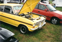 Opel Kadett B Coup (Oli-unterwegs) Tags: b gelb 1997 oldtimer coup treffen opel kadett opeltreffen schieder schiederschwalenberg schwalenberg