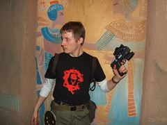 EIDOS (cosplayquest) Tags: cosplay laracroft trent kurtis tombraider eidos crossplay