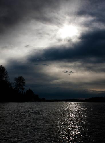Lake Washington Winter Sky
