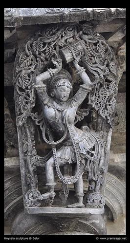 Belur sculpture
