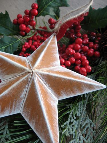 Rustic Star Ornament