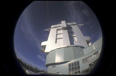 (RLBeaton) Tags: arizona film fisheye lbt scannedslides mtgraham largebinoculartelescope lbto ironman2