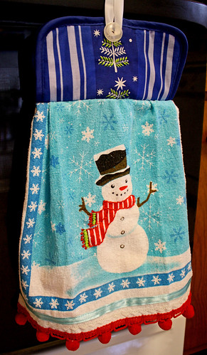Pot Holder Dish Towel Tutorial