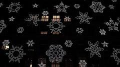 Fifth Avenue (☮Kate Monster) Tags: snowflake christmas city newyorkcity winter light snow snowflakes lights december seasons christmaslights melody carols songs