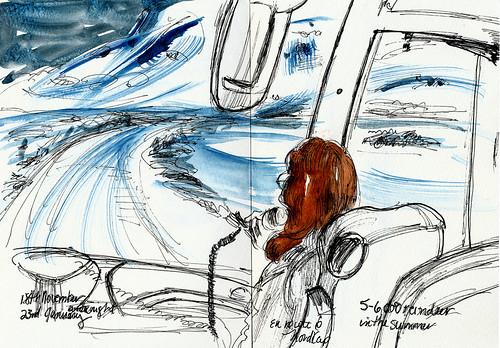 En route to Nordkap, Norway
