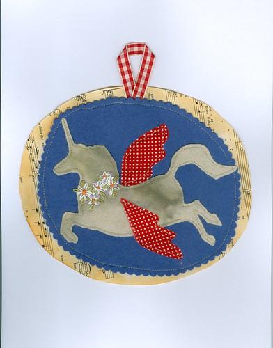 fifth day unicorn pattern