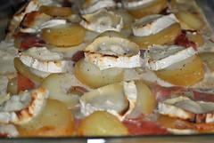 DSC_0685 - Gratin de pommes de terre au jambon cru et au chvre (Goldelie) Tags: food cheese recipe cuisine potatoes gratin