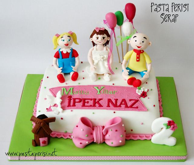 2ST. BIRTHDAY Caillou - Tarçın cake