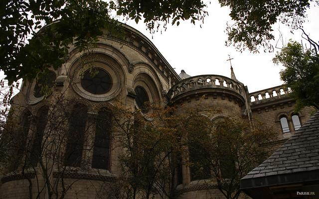L'abside, vue de dehors