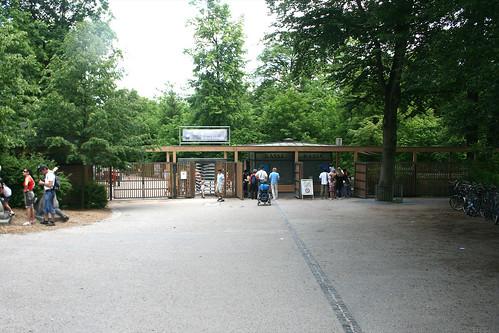 Eigang Tierpark Hellabrunn - Tierparkbrücke
