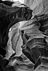 Lower Antelope Canyon (BlackRockBacon) Tags: white black rocks waves tour pentax canyon antelope 1750 slot tamron k5