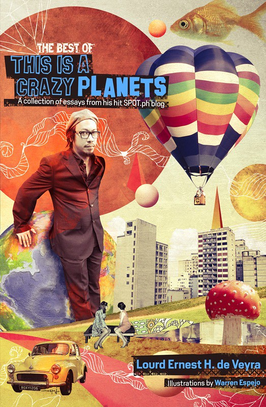 This is a Crazy Planets Book Cover