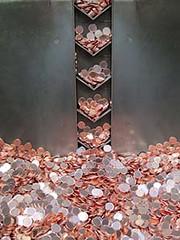 Coins at the Stuttgart Mint
