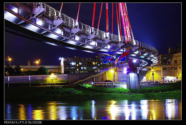松山彩虹橋─開始老地重拍