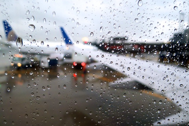 Leaving For Portland On A Rainy Day
