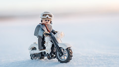 The Rebel (Reiterlied) Tags: 18 35mm bike d500 dslr finland jynerso lego legography lens minifig minifigure nikon oulu photography prime reiterlied rogueone snow starwars stuckinplastic sunset toy winter