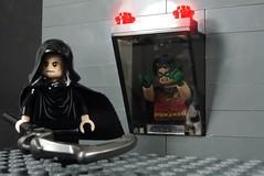 My Friends Will Come!!! (MrKjito) Tags: lego minifig super hero comic comcis dc rebirth detective comics robin tim drake mroz mystery cell