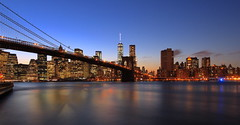 Manhattan Evening (ksmpics) Tags: landscapephotography newyork newyorkcity skyline manhattan cityscape citylights kspics water sunset