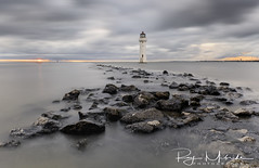 """Mersey Sunset New Brighton"" (Ray Mcbride Photography) Tags: lighthouse perchrock rivermersey"