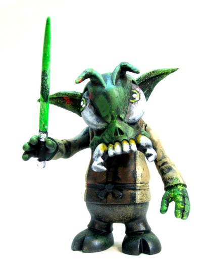 Yoda Skullbee by Leecifer