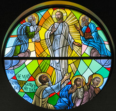 The Transfiguration of Jesus (Loci Lenar) Tags: new news art church window canon photography blog interestingness interesting flickr catholic image rss god faith religion jesus nj photojournalism stainedglass images blogs christian explore photoblog moses photograph bible catholicchurch bloglines feed christianity catholicism elijah scripture stainedglasswindow feeds jesuschrist morriscounty christianart biblescripture powershotg7 colorphotoaward stpetertheapostlechurch transfigurationofjesus