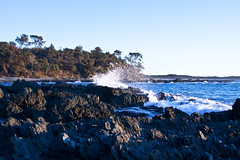 Diggers Camp_788 (Michael Dawes) Tags: camera camping seascape beach landscape nationalpark scenery seascapes country scenic australia coastline headland 61 wooli newsouthwhales yuraygirnationalpark canon50d diggerscamp canon24105mmf4ismusm canon400mmdoisusm14