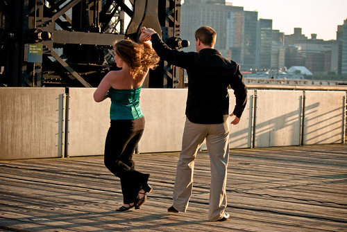 Dancers at the Gantries