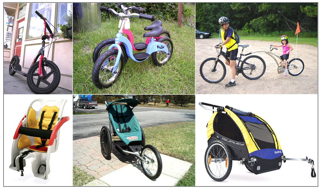 Sampling of Family Cycling Products