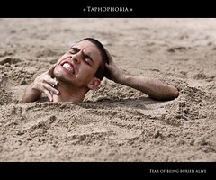 Day 364/365 - Taphophobia (Tiag Ribeiro) Tags: sand arms buried head fear dirt phobia project365 taphophobia