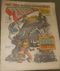 2000AD Prog 76 - Introducing the man called Robo-Hunter - art by Ian Gibson (flickr)