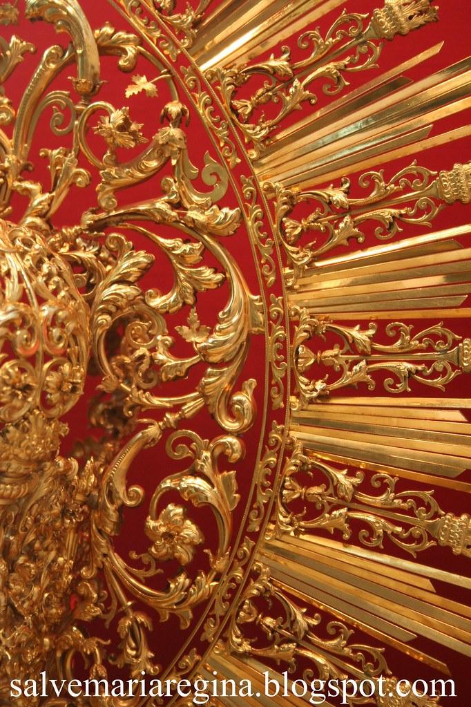 Detalle de la Corona de Ntra. Sra. de la Esperanza de Triana