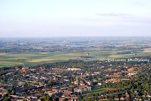 Nijmegen from above - hot air ballooning 1