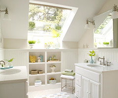 White Bathroom (decorology) Tags: betterhomesandgardens bathroomrenovation whiteinteriors summerdecorating brightbathrooms