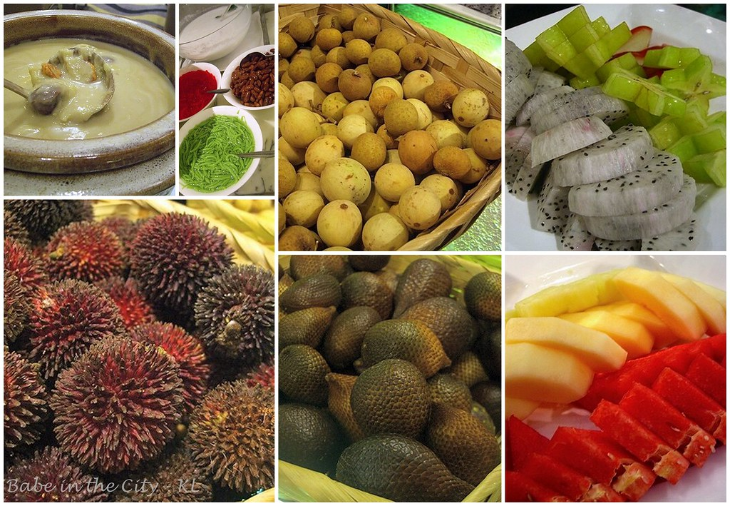 Paya Serai - fruits n local desserts