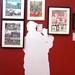Vue générale de l'exposition Tardi à l'Historial de la Grande Guerre à Péronne
