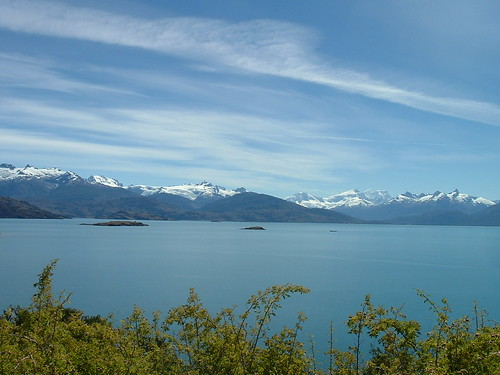 Un lago en la Patagonia chilena