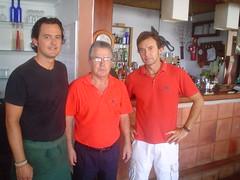 Aitor, Gorka and Waiter