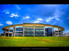 The Long Center for the Performing Arts (Apogee Photography) Tags: clouds austin geotagged nikon texas austintexas hdr photomatix d5000 cityofaustin austinhdr topazadjust 163431 nikond5000 texashdr 20090726 geo:lat=30261309 geo:lon=9775094