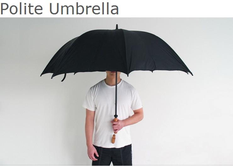 Polite Umbrella - Parapluie par Joo Youn Paek