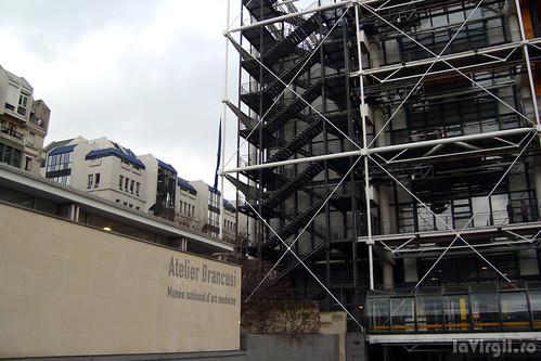 Paris: Atelierul lui Brancusi