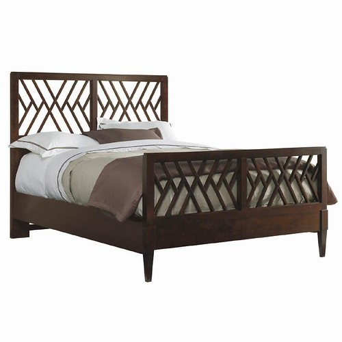 Stanley Furniture Continuum Queen Chippendale Bed