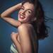 Marilyn Monroe (Still Norma Jeane, by Laszlo Willinger, c. 1946)