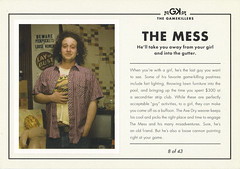 AXE Deodorant THE MESS Ad Postcard (crayolamom) Tags: man advertising mess postcard ad axe series deodorant slob gamekiller