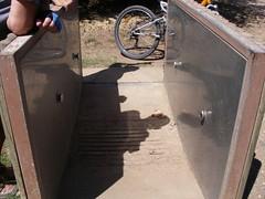 Lava-bicicletas inusável